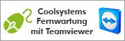 Coolsystems Fernwartung mit Teamviewer